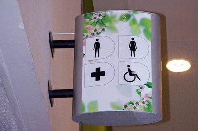 Vista Light Family Restroom Signs