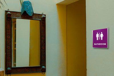 Vista Nova Family Bathroom Signs For Business