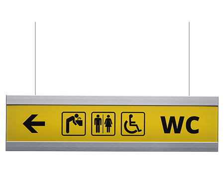 bathroom signs for business